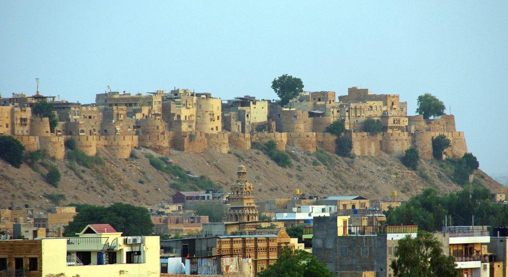 jaisalmer golden fort rajathan image from pixabay