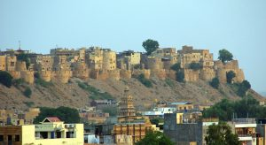 jaisalmer golden fort rajathan image from pixabay