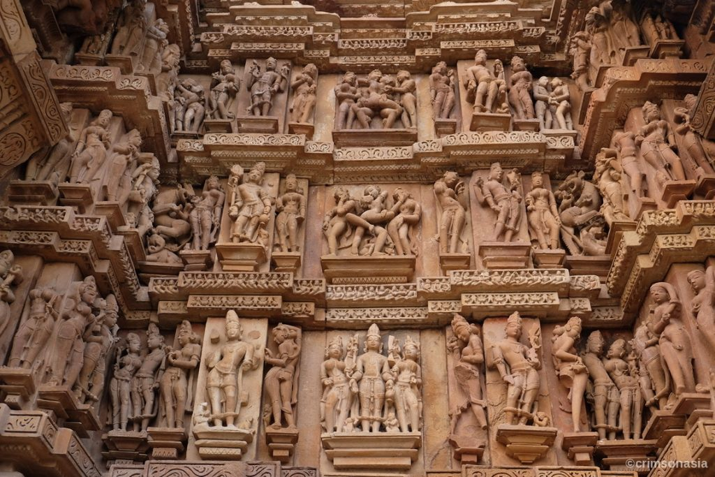 khajuraho sensual sculptures classic india program crimsonasia