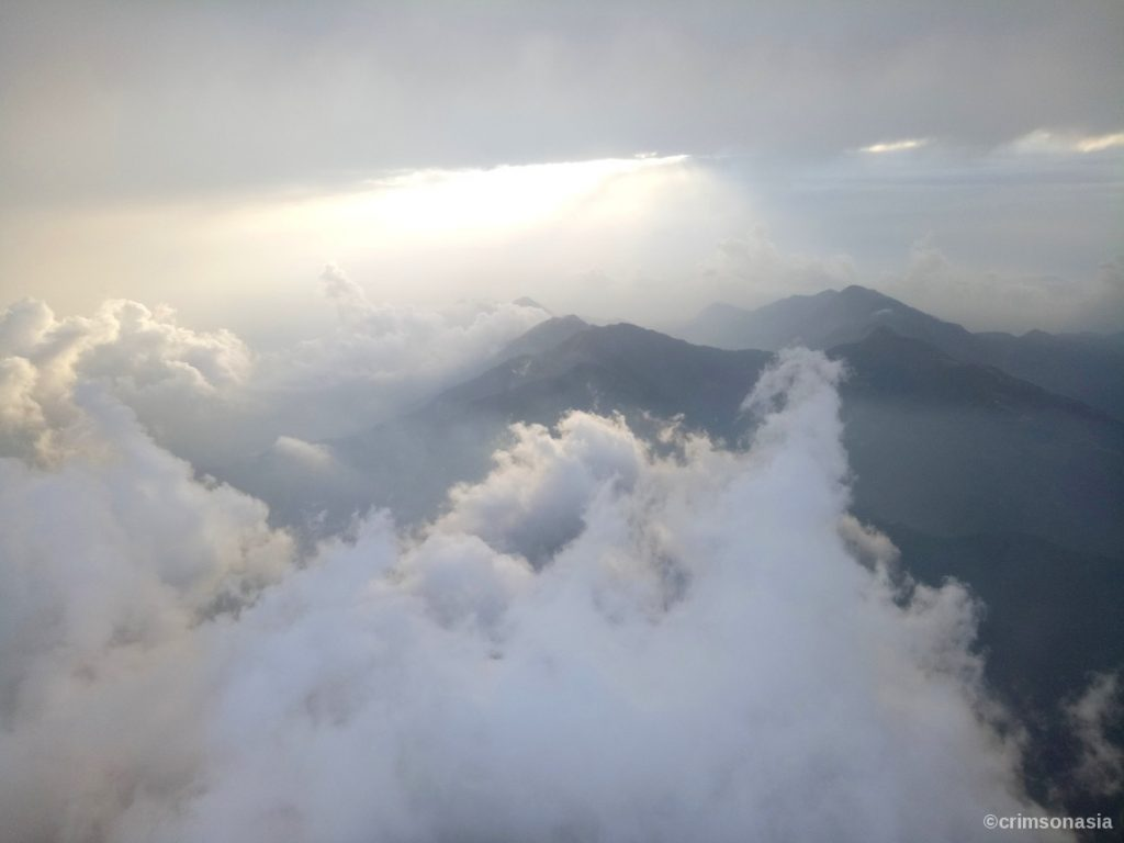 best of nepal crimsonasia clouds and mountains upon landing in kathmandu