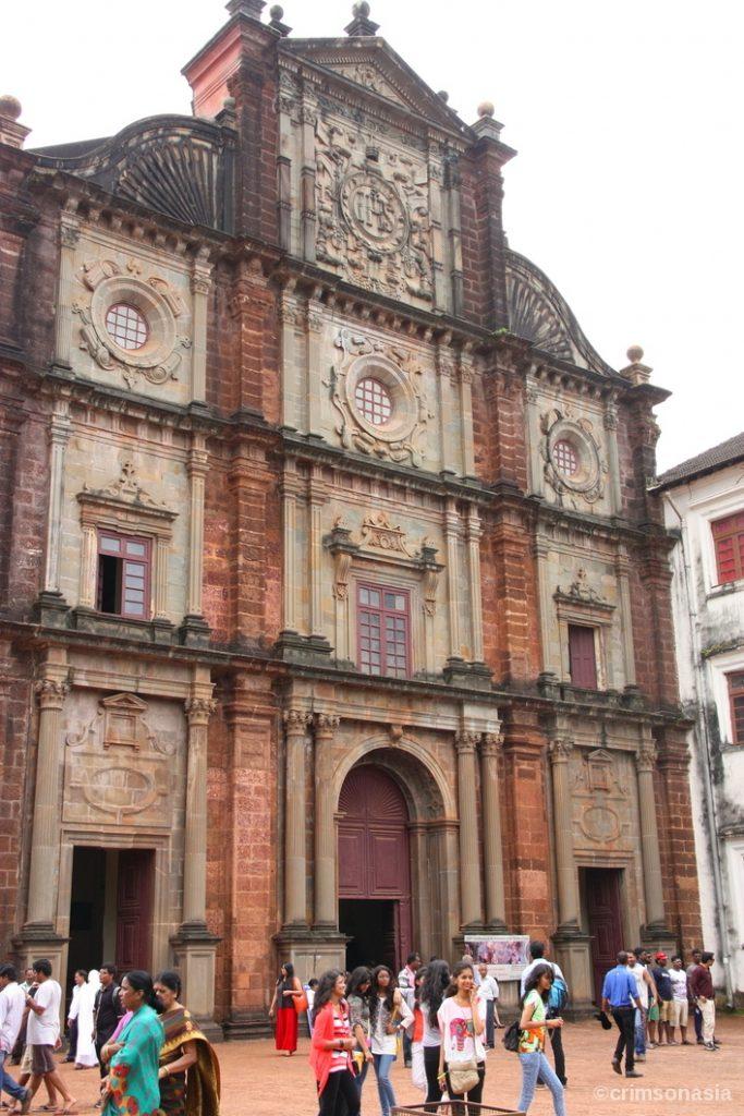 basilica of bom jesus goa crimsonasia